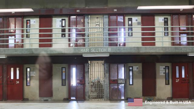 California Prison Interior
